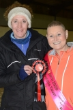Adele and Sarah with her Rosette
